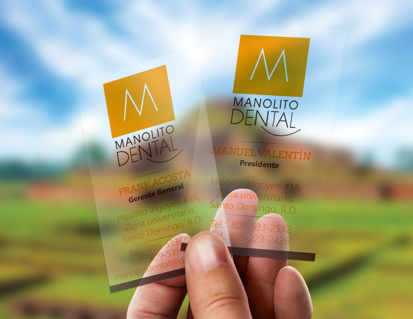 Tarjetas Manolito Dental